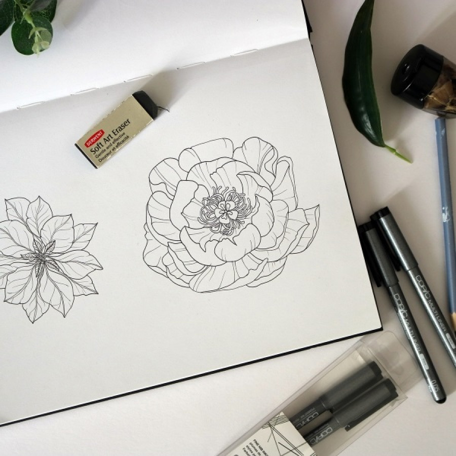 Rajzolj egy virágot, és tudd meg, hogy ki vagy!