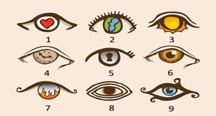 Válassz egy szemet, ha szeretnél többet megtudni a személyiségedről!