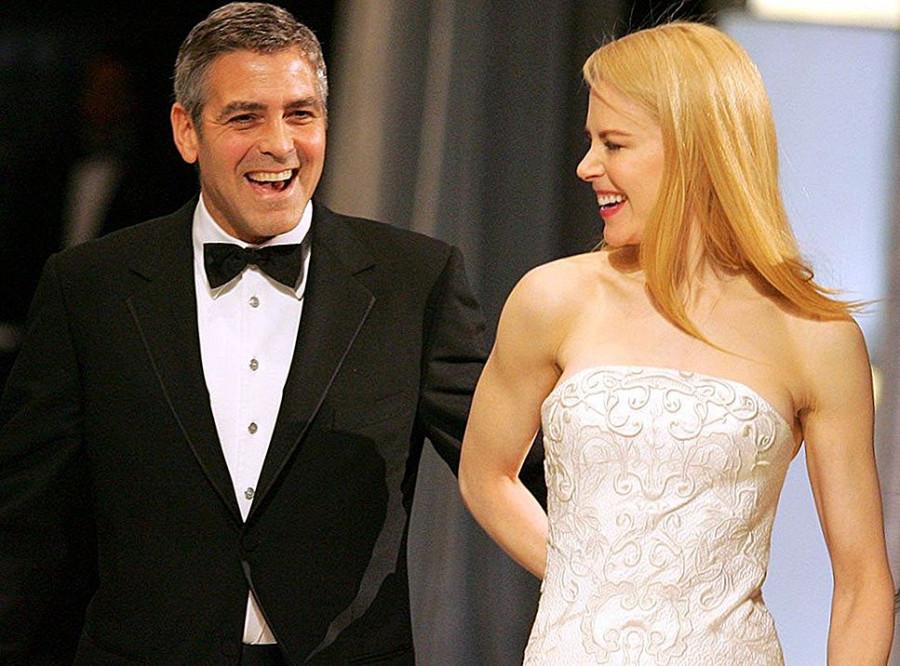 Éveken át fogadott George Clooney Michelle Pfeiferrel és Nicole Kidmannel